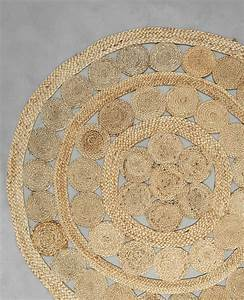tapis rond jute beige taupe 50 902236742a07 pimkie With tapis rond en jute