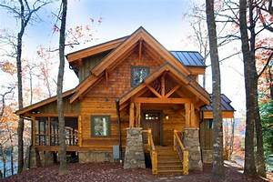 Camp Cullowee Cottage — Rustic Mountain Timber Frame Home ...