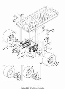 Troy Bilt 17afcacp011 Mustang 50 Xp  2013  Parts Diagram For Drive System