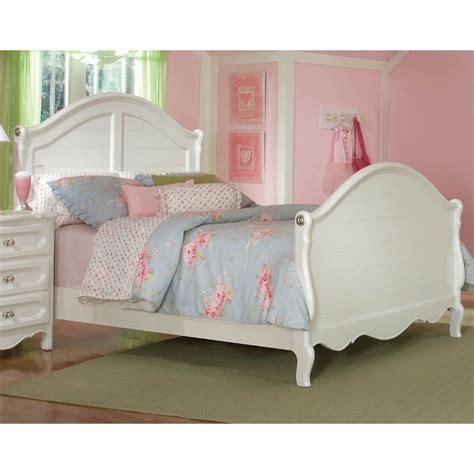 rc willey beds adrian white sleigh bed