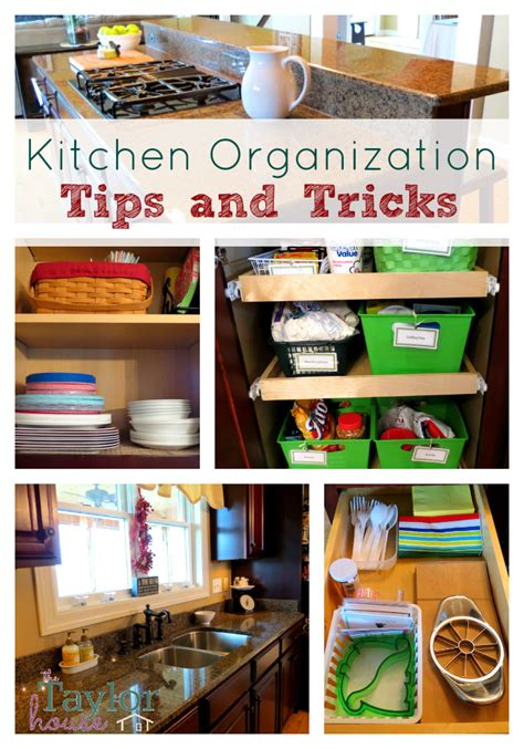 Kitchen Organization Tips  The Taylor House