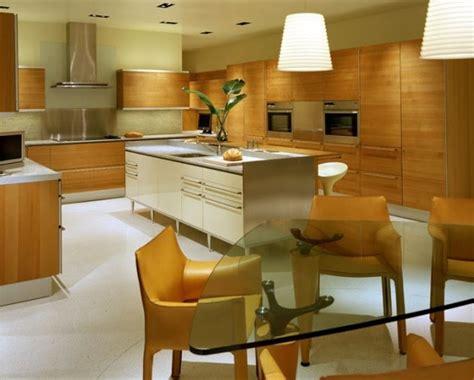 muebles de madera  cocina elegante cocina