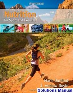 Nutrition For Sport And Exercise 3rd Edition Dunford