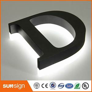 compare prices on backlit sign letters online shopping With backlit metal letters