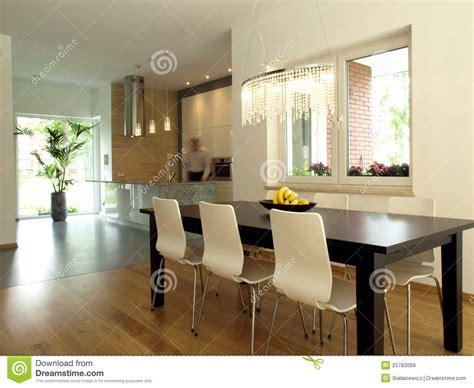 cucina e sala da pranzo sala da pranzo e cucina immagini stock libere da diritti