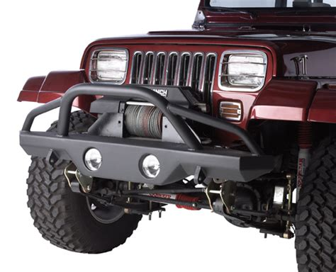 Rampage Front Recovery Bumper Jeep