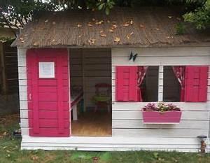 Cabane Exterieur Enfant : cabane pour enfant en palettes 6m cabane enfant palette ~ Melissatoandfro.com Idées de Décoration