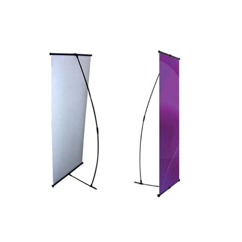 l on a stand l banner stand 24 quot trade show banner stands portable