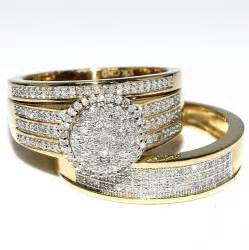 his and wedding ring sets cheap mens wedding rings yellow gold find mens wedding rings yellow gold deals