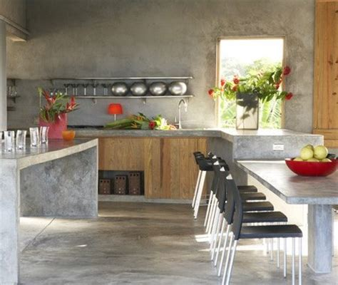 cocinas de cemento  ideas  fotos decoraideas