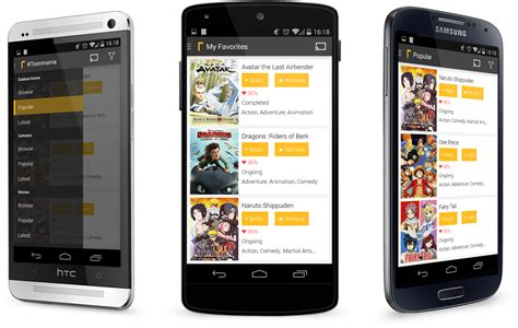 mobile app for android anime android anime mobile anime app drama android