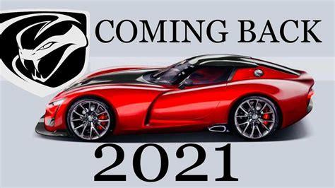 2020 dodge viper 2020 dodge viper concept car review car review