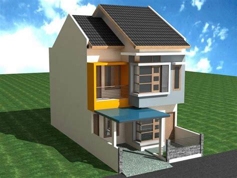 desain rumah minimalis  lantai type  unik  sederhana