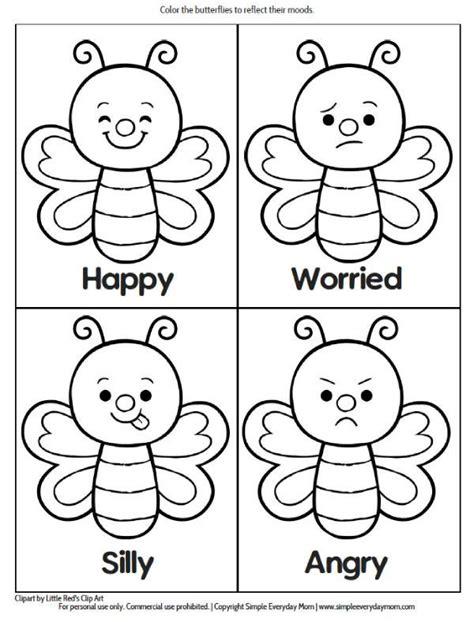 printable preschool bug activities  learning fun emotions preschool bug activities