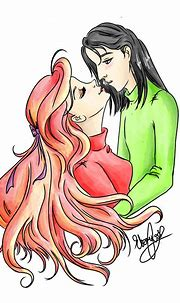 Lily Evans and Severus Snape by Ebsie on DeviantArt