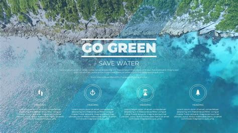 design environment save earth water campaign