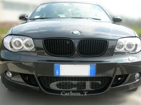 bmw e81 e87 1 series sport kidney grill grille matt black