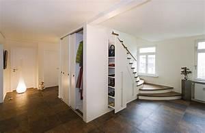 Unter Treppen Schrank : stauraum unter der treppe schreinerei blendl stuttgart ~ Michelbontemps.com Haus und Dekorationen