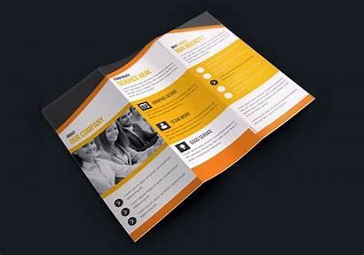 Brochure Creative Fold Tri Corporate Premium Templates