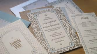 deco wedding invitations deco garden wedding invitations