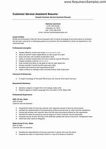 Resume Skills Examples Customer Service