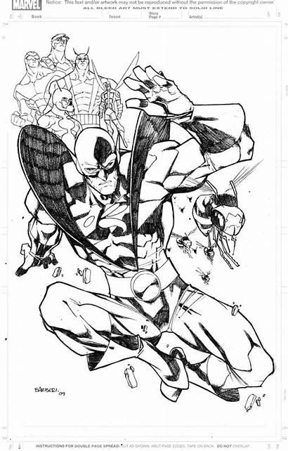 Yellow Jacket Marvel Hank Pym Coloring Avengers