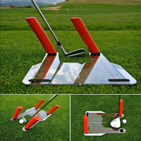 golf swing aid golf swing trainer speed trap base with 4 pcs speed rods