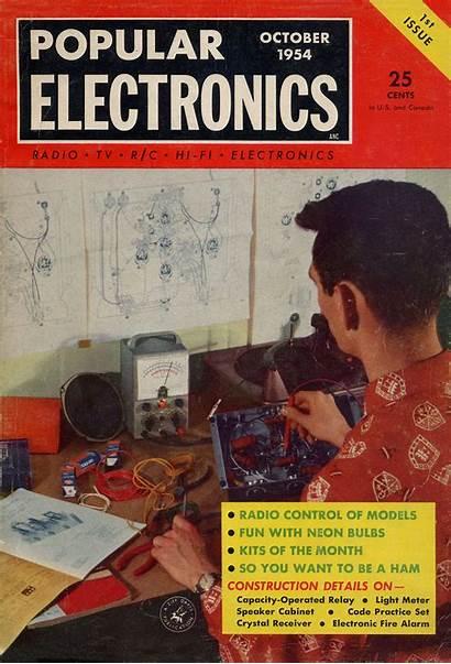 Electronics Popular Radio 1954 Magazine 1982 Scanner