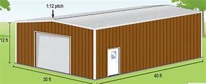 30x40 metal building uses price With 30 x 60 metal building cost