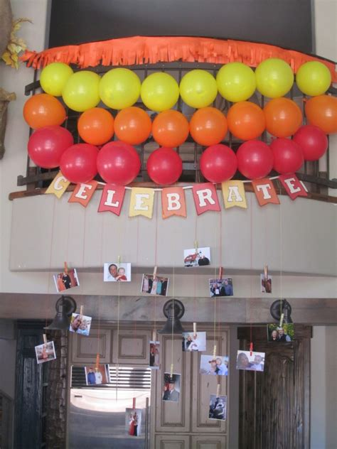 Decorating Ideas Ninetieth Birthday by Simple Birthday Decorations Events To Celebrate