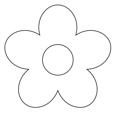 black and white flower clipart simple flower clipart black and white clipart panda