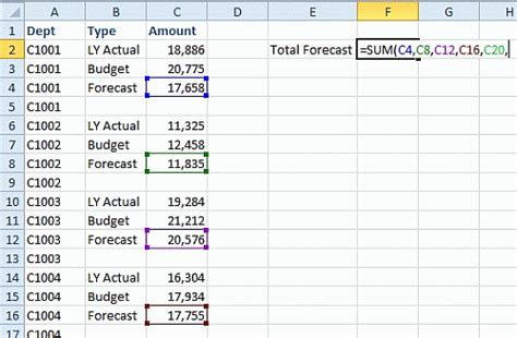 all worksheets 187 how to add cells in excel from different