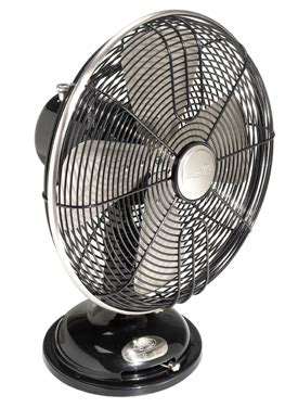 hunter  century  oscillating table fan