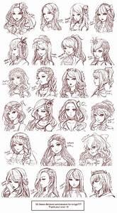 Anime girl hairstyle | Anime Hair Style | Pinterest ...