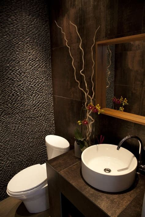 bathroom powder room ideas 40 brown bathroom wall tiles ideas and pictures