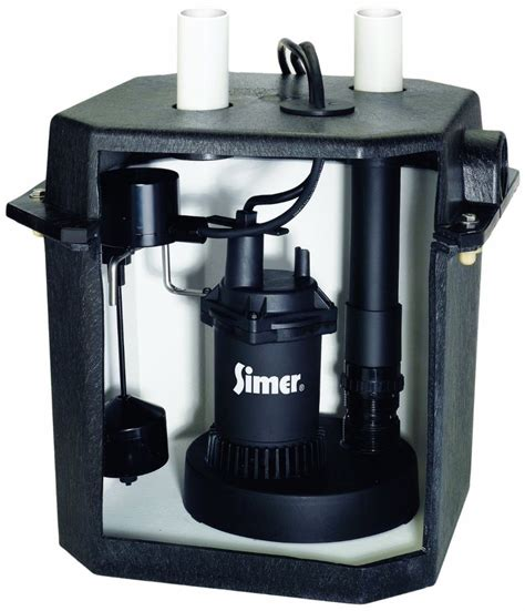 under sink pump system pentair simer 2925b 115v 6 gallon under sink laundry pump
