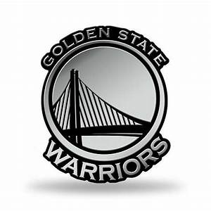 Buy Golden State Warriors Logo 3D Chrome Auto Decal ...