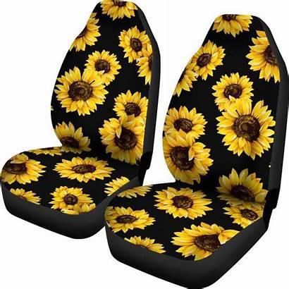Sunflower Pattern Universal Seat Covers