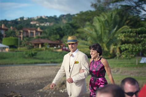 Tropical Destination Beach Wedding In Costa Rica