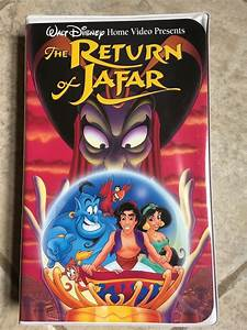 Walt Disney The Return Of Jafar Aladdin Vhs Tape