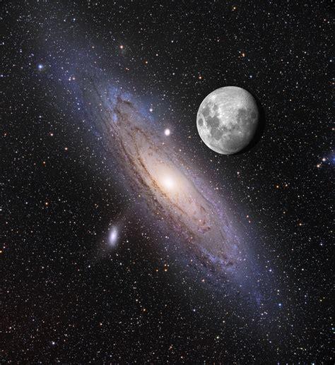 Apod December Moon Over Andromeda