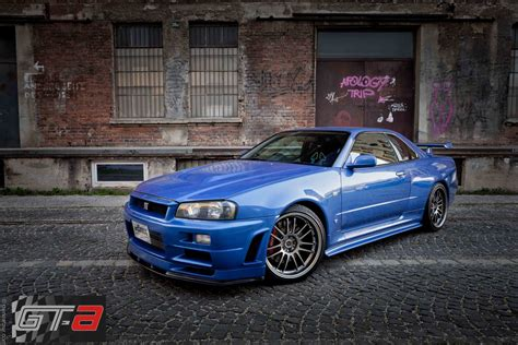 blue nissan skyline fast and furious paul walker 39 s 39 fast furious 4 39 r34 nissan gt r for sale