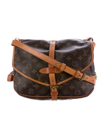 louis vuitton crossbody bags luxury fashion  realreal