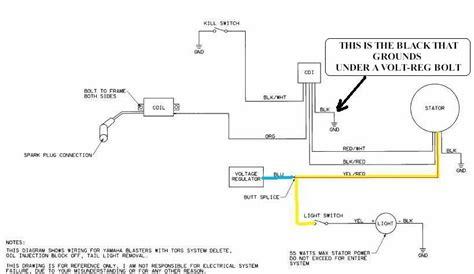 Yamaha Blaster Tors System Wiring Diagram