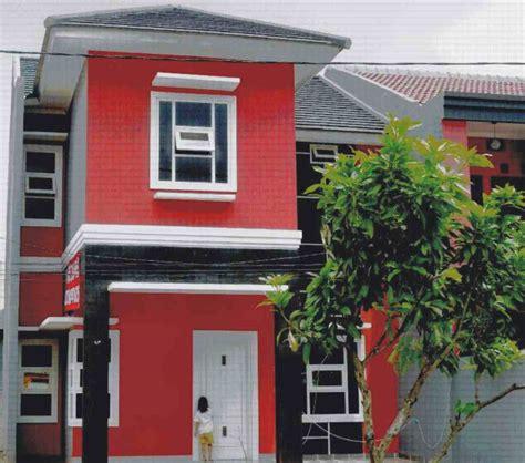 design rumah minimalis warna merah desain rumah