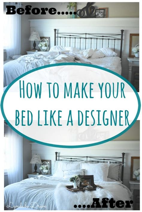 How To Your In Bed by How To Make Your Bed Like A Professional Designer
