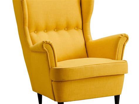 Strandmon Wing Chair Skiftebo Yellow by Strandmon Wing Chair Svanby Grey Home Design Ideas
