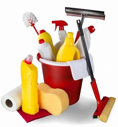 Cleaning Supplies Clipart Vector Chemicals Clip Royalty