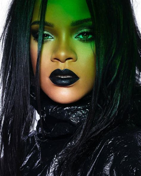 Rihanna Shares 3 Game Changing Makeup Tips In Her Gothic