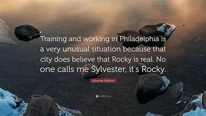 Sylvester Stallone Training Philadelphia Working Rocky Believe